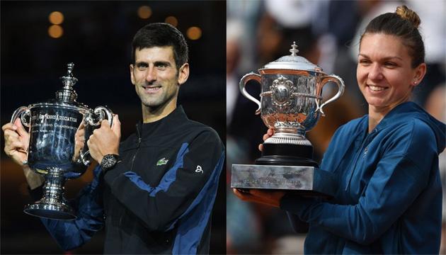 Теннисисты Джокович и Халеп признаны чемпионами мира 2018 года - ITF