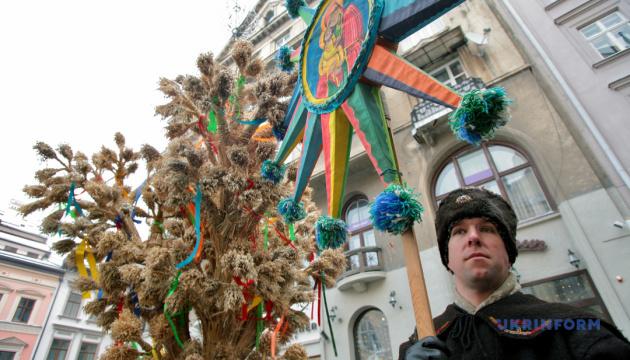 Івано-Франківськ після перерви готується до конкурсу різдвяних дідухів