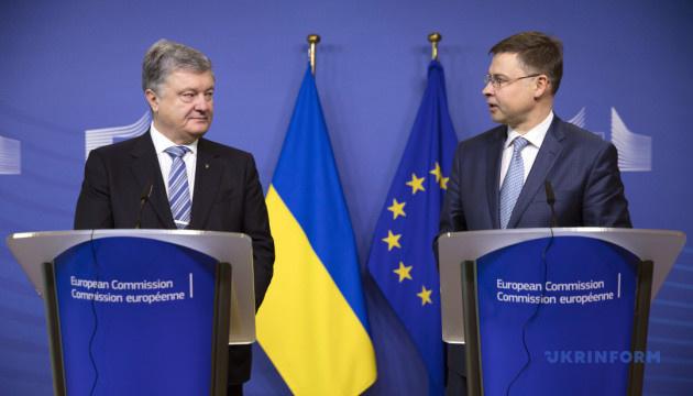 Домбровскіс сказав, що має зробити Україна для отримання другого траншу з ЄС