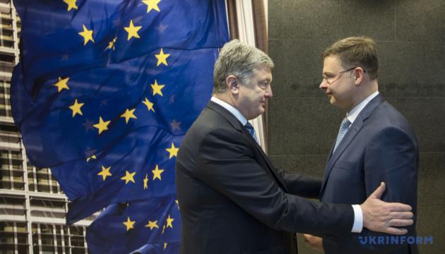 ЕС призывает Россию освободить украинских моряков и судна — вице-президент ЕК