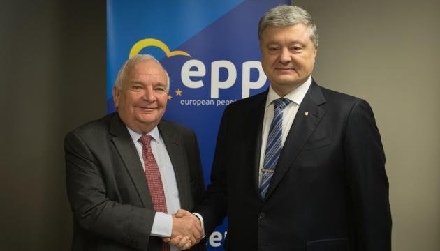 Президент призвал ЕНП посодействовать освобождению украинских моряков из плена РФ