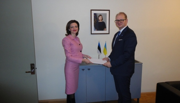 Беца розпочала дипмісію в Естонії