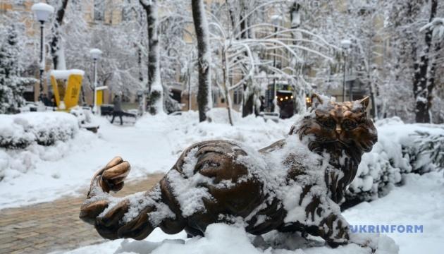 Україні обіцяють на найближчі три дні легкий мороз і багато снігу