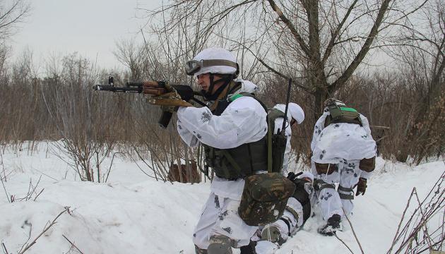 統一部隊作戦圏:12月31日、ロシア占領軍の攻撃4回、ウクライナ兵の負傷2名