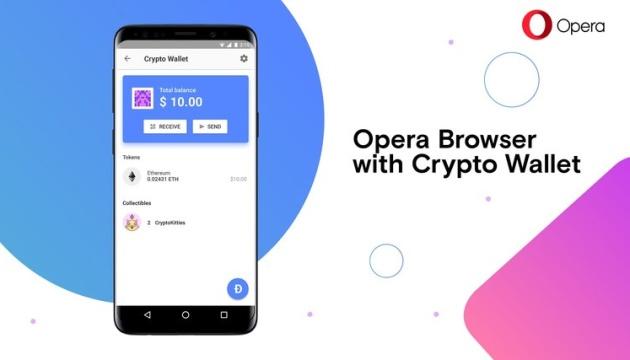 Opera випустила криптобраузер для Android з підтримкою Web3
