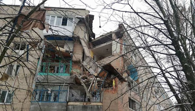 У Фастові вибух газу зруйнував три поверхи у житловому будинку, є постраждалий