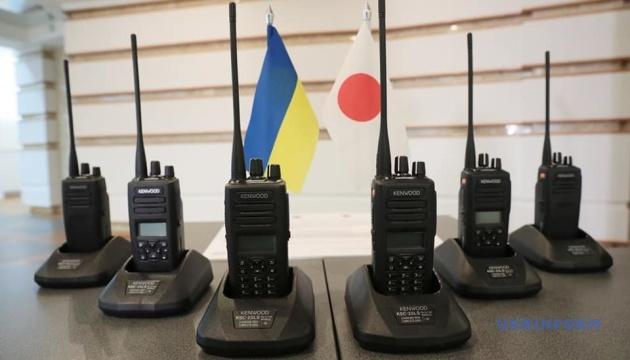 Украинские копы получили от Японии новейшие радиостанции на $500 тысяч