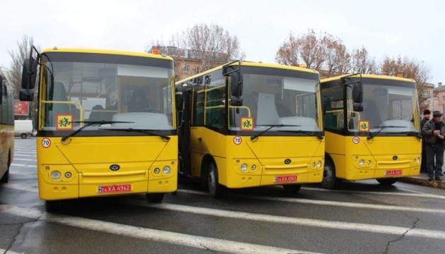 Украинские города планируют в этом году закупить 227 автобусов и 153 троллейбуса