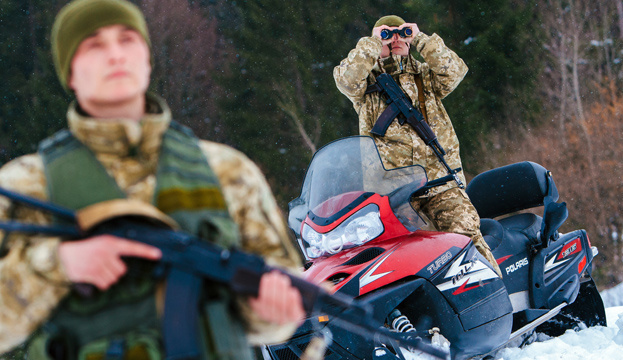 Ukraine and neighboring countries have conducted over 3,000 joint patrols this year