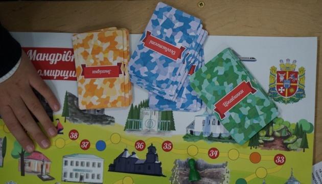 Для детей создали игру «Путешествие по Житомирщине»
