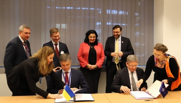 Ukraine, NATO sign agreement on ammunition disposal
