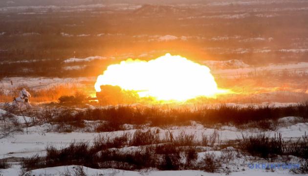 Okupanci ostrzelali z granatników pozycje Sił Zbrojnych Ukrainy pod Hnutowe