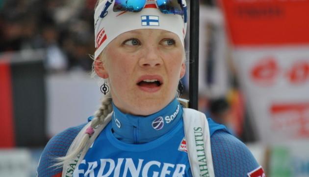 Біатлон: Макаряйнен виграла гонку переслідування на другому етапі Кубка світу