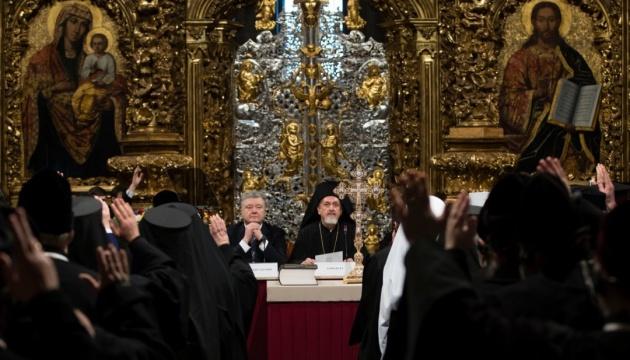 Единая церковь является одним из ключевых элементов независимости — Порошенко
