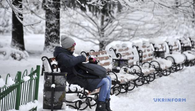 В Україні температура коливатиметься від 0° до 17° морозу
