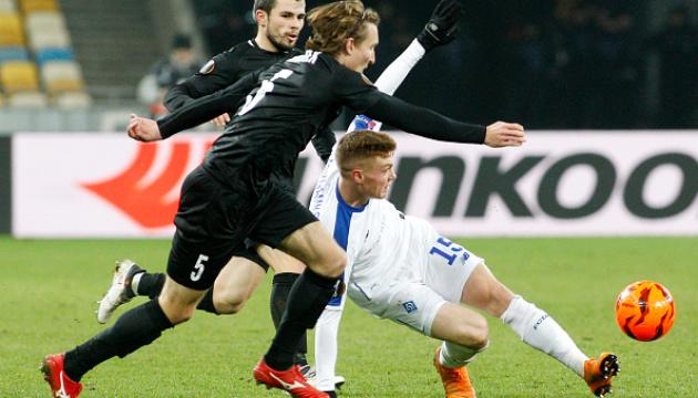 Циганков потрапив до збірної групового раунду Ліги Європи УЄФА