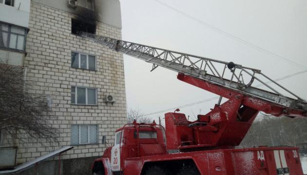 В Измаиле из-за взрыва самодельной пиротехники сгорели три квартиры