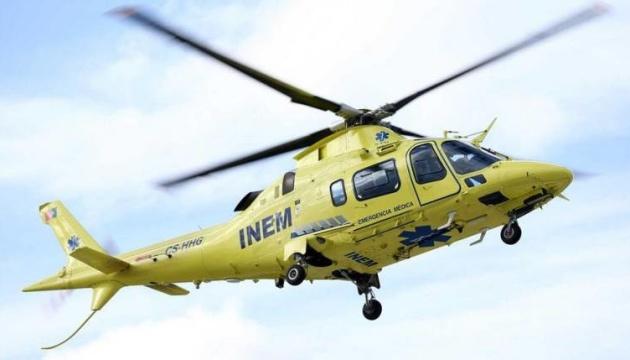 У Португалії розбився вертоліт із медиками, четверо загиблих