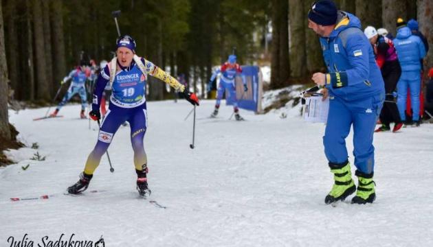 После провала в Хохфильцене женская сборная Украины опустилась в Кубке наций на 7-е место