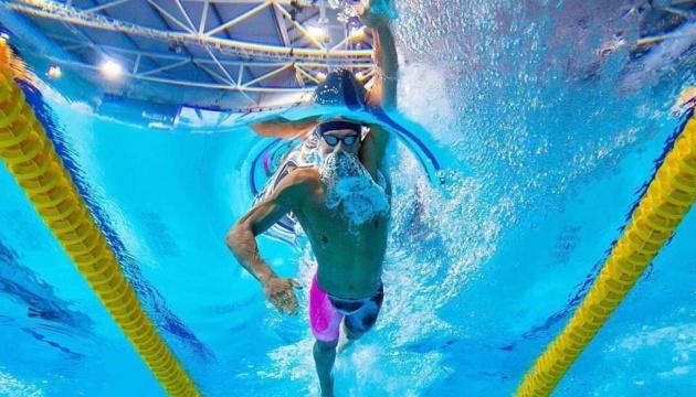 Президент поздравил украинского пловца Романчука с победой на чемпионате мира