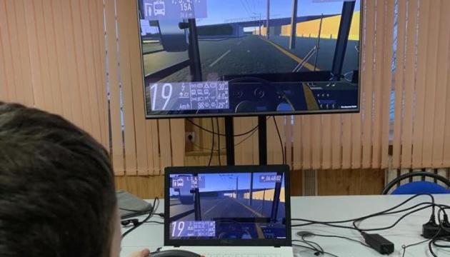 Житомирський студент створив віртуальний тролейбус, що повністю імітує рух містом
