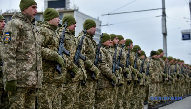 Військові тероборони Запорізької області склали присягу
