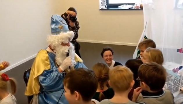 Маленьких українців в Нідерландах привітали зі святом Миколая