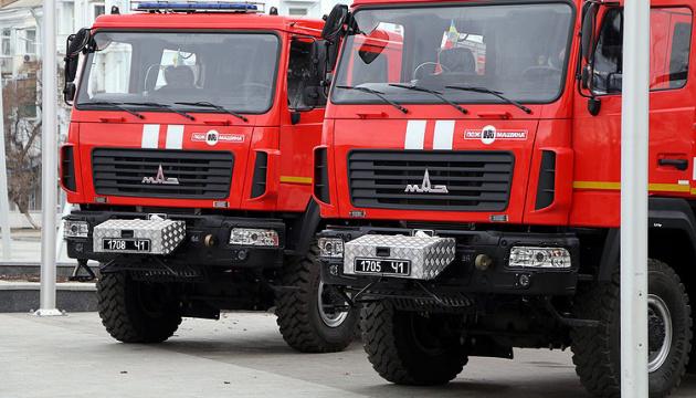 Рятувальники Донеччини отримали нові пожежні машини