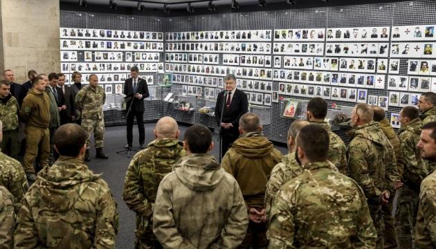 У Дніпрі Президент зустрівся з ветеранами АТО