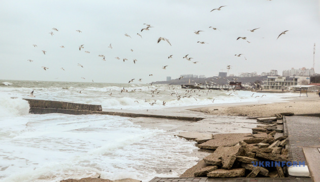 В акваторії Чорного та Азовського морів - штормове попередження