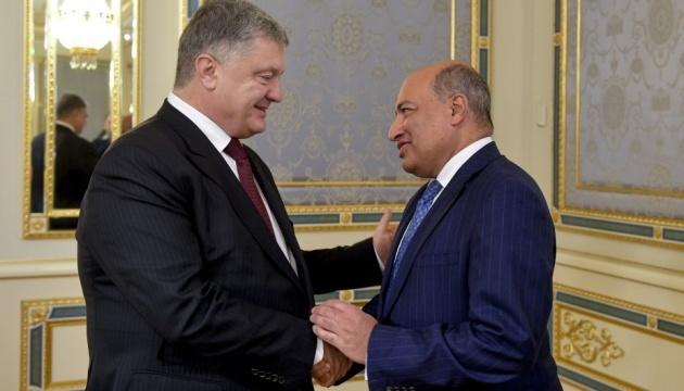 Poroschenko trifft sich mit EBWE-Chef