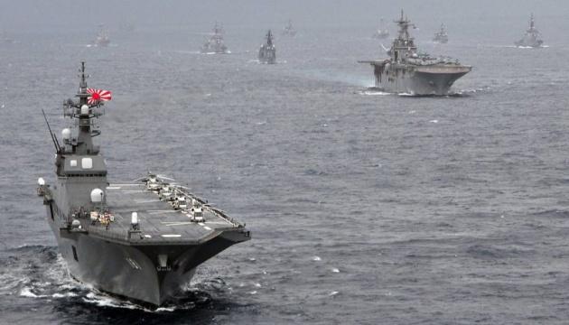 Японські моряки вперше проведуть навчання зі США і Британією