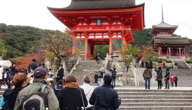Японию в этом году посетило рекордное количество туристов