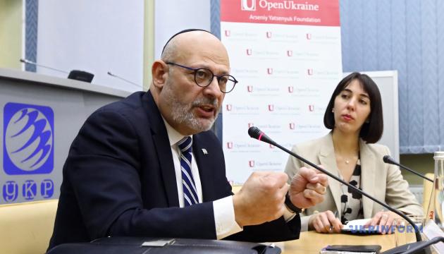 Посол Ізраїлю спростовує постачання гвинтівок в Україну