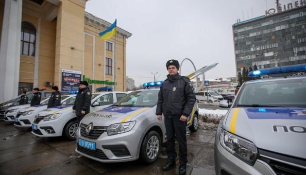 Полицейским Винницкой области передали 14 новых авто