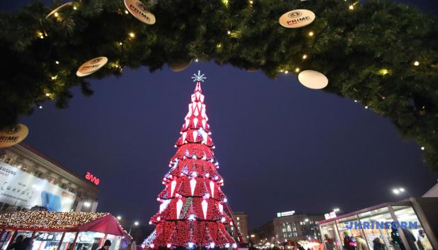 Парад ялинок: як виглядають новорічні дерева у різних регіонах України