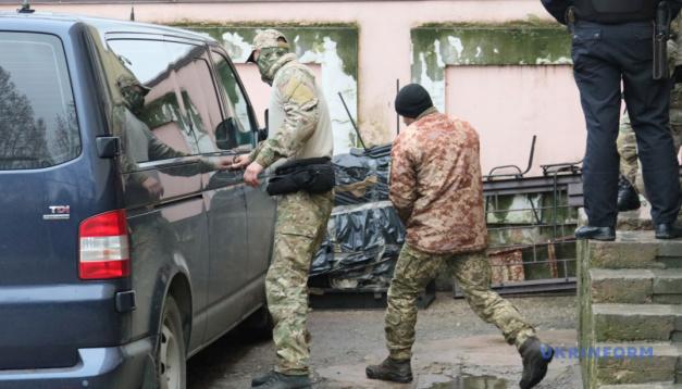 クリミア「裁判所」、露拘束のウクライナ海軍軍人24名中20名の控訴を棄却
