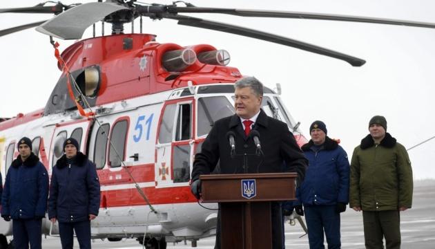 Армія отримає бойові вертольоти Airbus — Порошенко