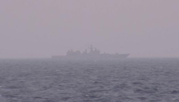 Reuters : La frégate lance-missiles de la Fédération de Russie passe de la Crimée à la mer d'Azov
