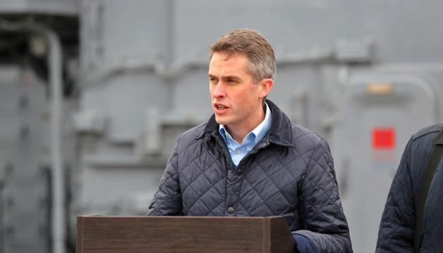 Госсекретарь обороны Британии: Другие страны тоже должны пригласить корабли в Украину