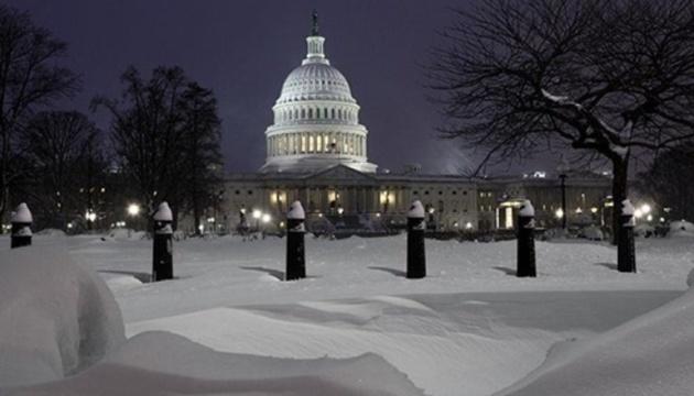 Чоловік видерся на різдвяну ялинку перед Білим домом
