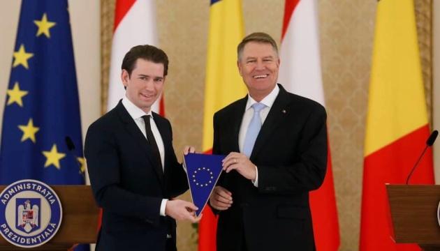 Австрия передала Румынии председательство в Совете ЕС