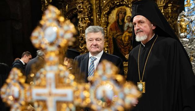 Petro Porochenko souhaite un bon Noël aux Ukrainiens