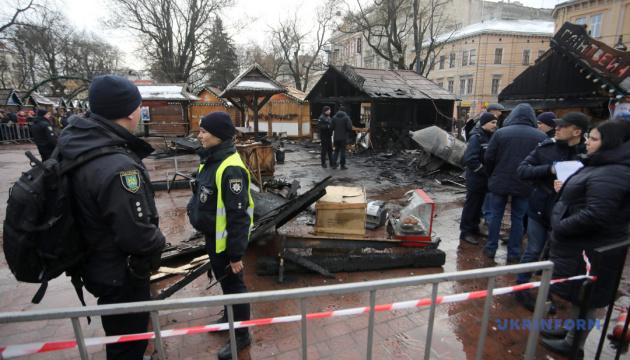 Во Львове умер пострадавший от взрыва на рождественской ярмарке