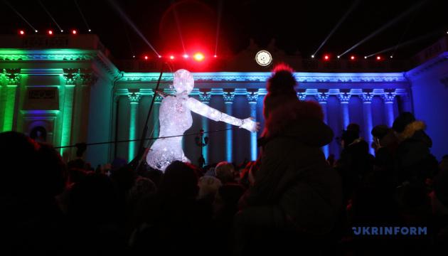 Фестиваль света стартовал в Одессе