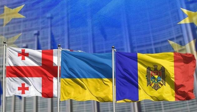 乌克兰、格鲁吉亚和摩尔多瓦签署领土重新融合和对抗俄罗斯联邦备忘录