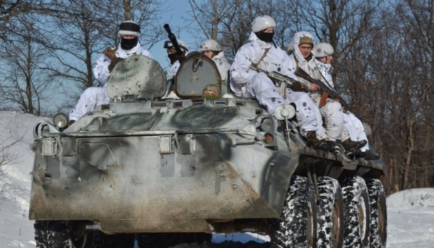 Militants launched 7 attacks on Ukrainian troops in Donbas in last day