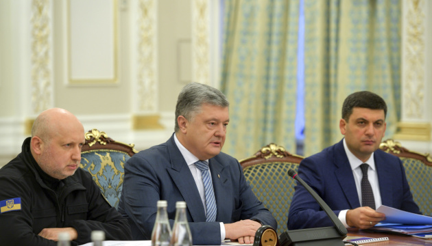 Poroshenko: Worst scenario of Russian Federation stopped
