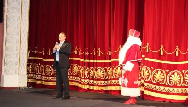 На Вінниччині улаштували свято новорічної ялинки для 1250 дітей з усієї області