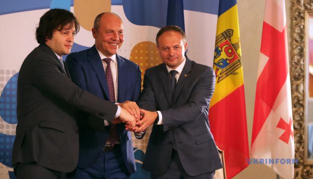 ウクライナ・モルドバ・ジョージア、ハイブリッド脅威への対抗で協力に合意